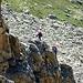 Zwei Kletterer im Aufstieg zum Bergseeschijen.