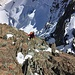 Wunderbare Kletterei in festem Fels