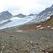 Vadret da Porchabella mit Namenloser See auf 2810m im Vordergrund.