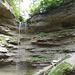 Der Wasserfall war schon mal kräftiger