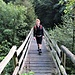 Francesca sul ponte sopra la Morobbia.