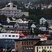 Die eher triste, an Hänge gebaute Hafen- und Industiestadt Narvik.