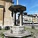 La fontana, opera di Giovanni da Udine de 1542 in piazza Matteotti.