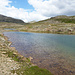 Der erster See erreicht (Laghi di Forcola)