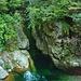 Das klare Wasser des Rio Pogallo kurz vor Cicogna.