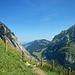 Das Alpgebiet von Mesmer wäre erreicht.