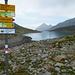 Am südliche Ende von Lago Bianco