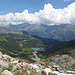 Aussicht nach Alp Grüm und Lagh da Palü.