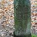noch ein alter Grenzstein von 1768, noch richtig gut erhalten
