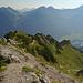 Schlussanstieg zum Breitenberg. Bis hierher sehr einfacher, schöner und nur teilweise steiler Aufstieg.