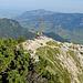 """Rückblick zum """"Gipfel"""" des Breitenberg. Eigentlich gibt es auf dem Weg zwischen Breitenberg und Gemsbollenkopf eine Hand voll ausgeprägterer Gipfel, als diese Gratschulter... ;-)"""