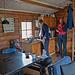 Die norwegischen Hütten sind gut eingerichtet und gemütlich