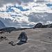 Gletscherschliff wie an der Grimsel