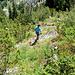 Im Abstieg - wo wir auch auf die Kreuzotter trafen.