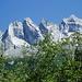 Die Sciora Gruppe im Aufstieg zur Cap. Sasc Furä