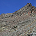 Aufstieg zum Egginer, knapp oberhalb des Heidefridhof