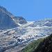 """Nahaufnahme des """"Glacier du Trient""""."""