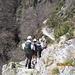 ultimo tratto di sentiero in traverso da Droi a Comino