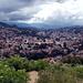Blick über Sarajevo. Man kann nur erahnen, wie es für die Bewohner sein musste, die in den 90er Jahren in der belagerten Stadt ausgeharrt haben.