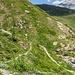 Aufstieg zum Biwak