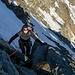 Tanja an einer der steileren Stellen