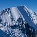 Die Aiguille du Bionnassay vom Abstieg knapp oder der Gouter-Hütte