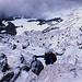 Tiefblick in die Ostwand des Matterhornes.