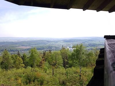 Preußische Velmerstot; Aussicht vom Eggeturm. © dasMue