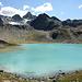 Der eine See tiefblau, der andere türkisfarben