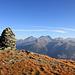 Le sommet du Emshorn: vue sur les Alpes bernoises.
