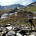 Val Vigon, in basso attorno Q2150 si trova il sentiero