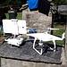 <b>Un drone è già pronto per immortalare la festa del monte.</b>