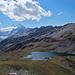 Lac des Autannes, Moiry-Gletscher und Dent Blanche
