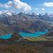 Der türkis leuchtende Lac de Moiry, eingebettet in die Berge des westlichen Val d'Anniviers