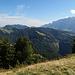 tolle Aussicht auf dem Hinterfallenchopf, zum Kronberg und Säntis