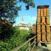Blick auf die Kirche von Beromünster