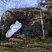 Felsenloch unterhalb des Chellenchöpflis