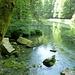 der kleine See bei der Quelle