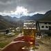 Das Bier schmeckt am Rifugio Vittorio Sella - und wie! :-)