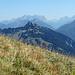 Im Hintergrund das Zugspitzmassiv