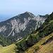 Blick vom Füssener Jöchle in Richtung Nordosten ins Alpenvorland
