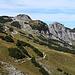 Tannheimer Höhenweg und Sefenspitze, links der Bildmitte