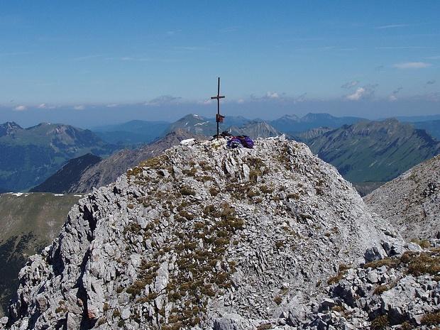 Gipfel der Schaufelspitze