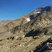 Unsere beiden Gipfelziele: Jegihorn und Lagginhorn.