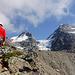 Der Klettersteig beginnt relativ einfach - vor schönster Kulisse.