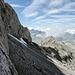 Blick vom Einstieg in den Nordgrat zurück zu den Chilchbergen.