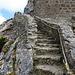 Aufstieg zum Château