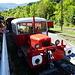 Arbeitszug des Train rouge de pays Cathare (sieht aus wie ein LKW)
