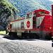 Lokomotive des Train rouge de pays Cathare