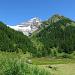 Letzter Blick in die Berge, bevor es auf der Fafleralp wieder ins Postauto geht